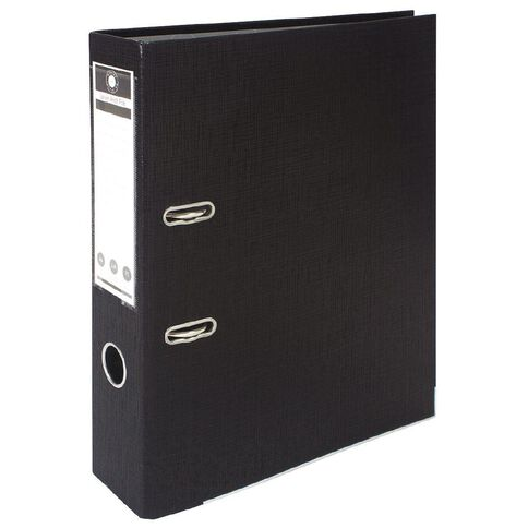 Office Supply Co Lever Arch Black A4