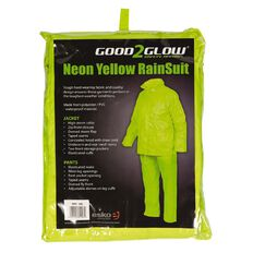 Esko Good2Glow Rainsuit Jacket and Pant Set Hi-Vis Yellow 2XL