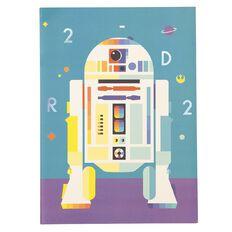 Star Wars Kids Scrapbook R2D2 Multi-Coloured 24cm X 33cm