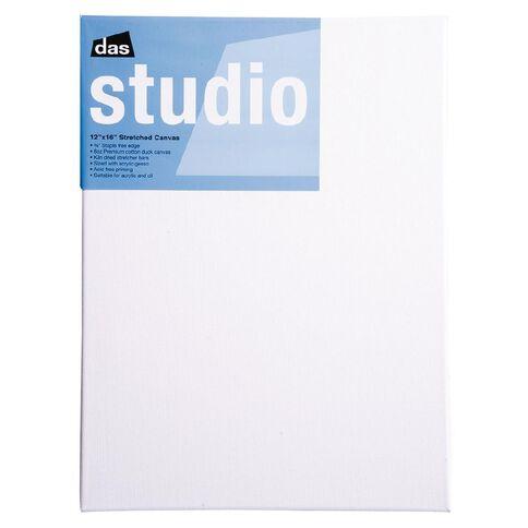 DAS Studio Canvas 12 x 16 White