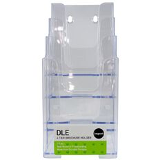 Impact Brochure Holder Free Standing Dle 4 Tier 4 Compartments