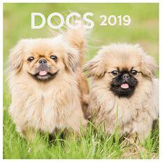 Calendar 2019 Dogs 290mm x 290mm