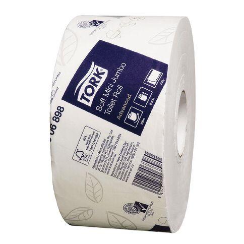 TORK Tork T2 Soft Mini Jumbo Toilet Roll 2ply Advanced 200m