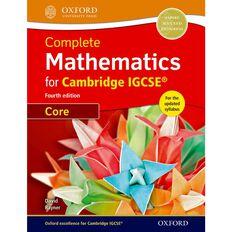 Igcse Year 11 Mathematics Complete Mathematics Student Book Core