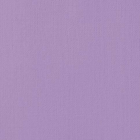 American Crafts Cardstock Textured Lavender 12in x 12in