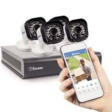 Swann 720P 4Ch 500GB Dvr + 4 x Bull Cams Kit White