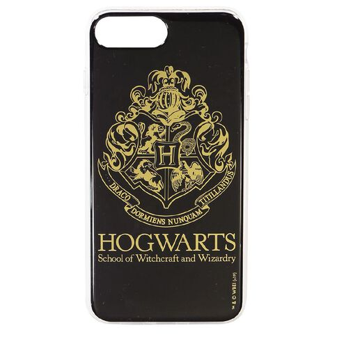 Harry Potter iPhone 6+/7+/8+ Hogwarts Case Black