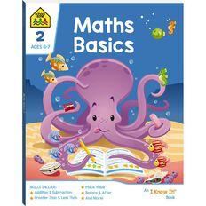 Maths Basics 2 I Know It Book (6-7yrs) by School Zone