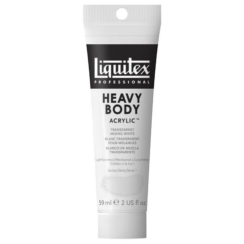 Liquitex Hb Acrylic 59ml Trans Mix White