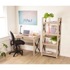 Workspace Bedford Desk & Bookcase