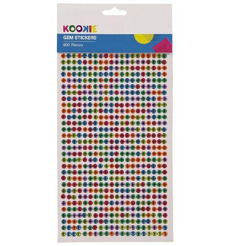 Kookie Adhesive Gem Stickers