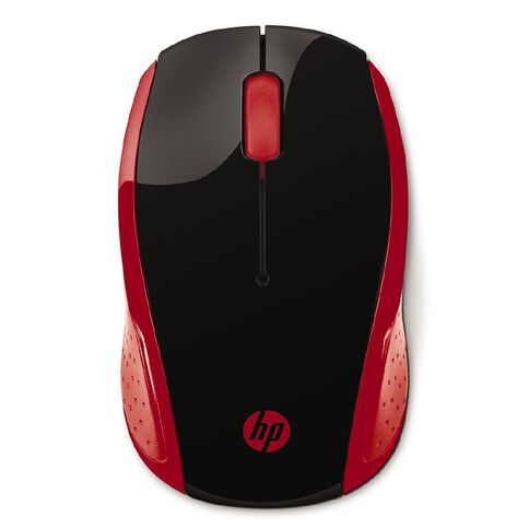 HP 200 Wireless Mouse Red