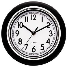 Living & Co Essential Wall Clock Black 21cm