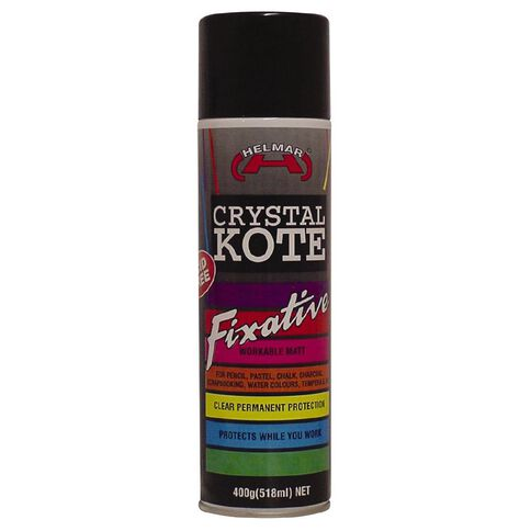 Helmar Varnish Crystal Kote Fixative Clear