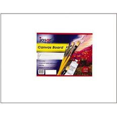 Jasart Canvas Board 8 x 10 White