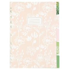 Uniti Secret Garden Dividers A4 5 Pack