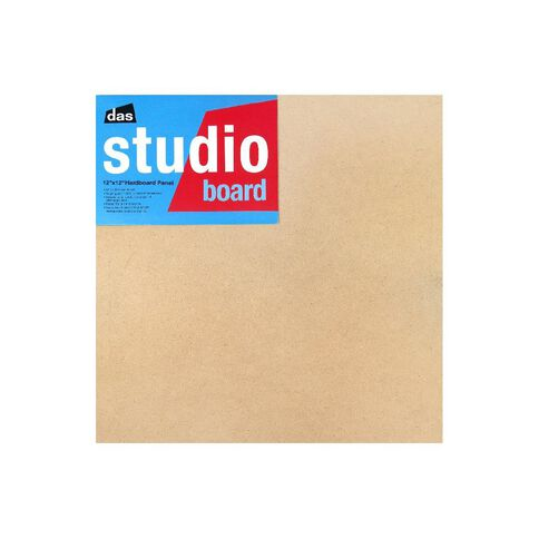 DAS Studio 3/4 Hardboard 12 x 12 Brown