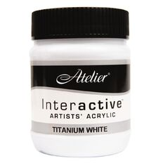 Atelier S1 250ml Titanium White