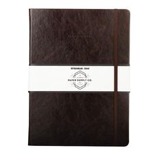 Paper Co Vintage Journal Brown A4