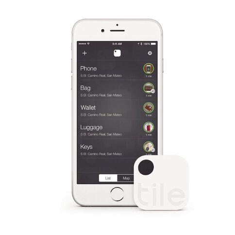 Tile Bluetooth Tracker Single Pack White