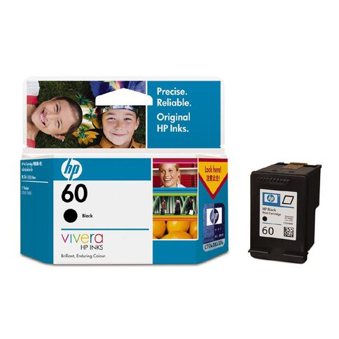 HP Ink Cartridge 60 (200 Pages)