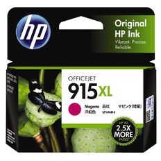HP Ink 915XL Magenta (825 Pages)