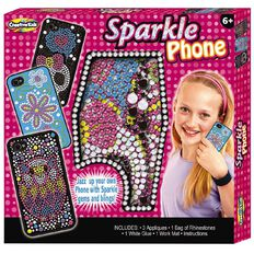 Creative Kids Sparkle Phone 26cm x 26cm x 35cm