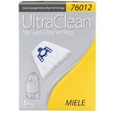 Ultra Clean Vacuum Bags Miele 5 Pack
