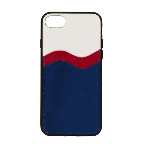 Botanic Geo iPhone 6/7/8/SE Wallet Phone Case R/W/B