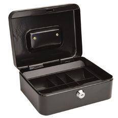 Impact Cash Box Black 8 inch