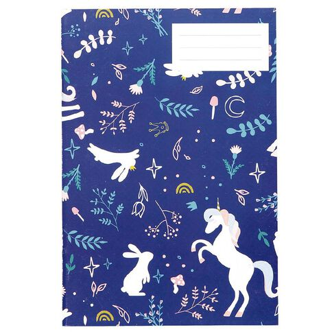 Kookie Enchanted Exercise Book Navy A5