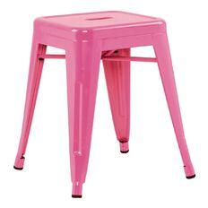 Workspace Metal Stool Pink