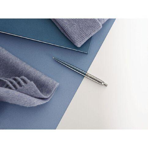 Parker Jotter Waterloo Blue Trim Ball Pen Blue