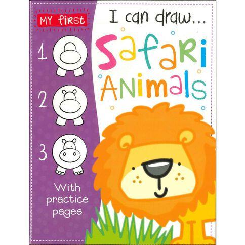 I Can Draw - Safari Animals