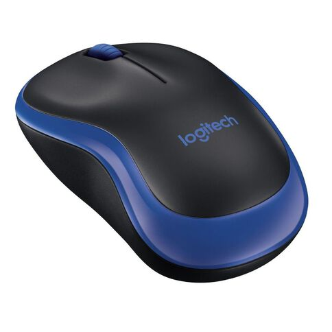 Logitech M185 Wireless Mouse Blue