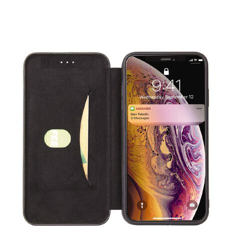 INTOUCH iPhone 12 Mini Milano Wallet Case Black