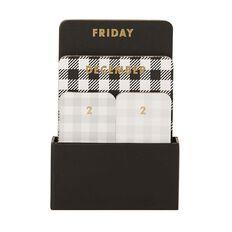 Uniti Craft Desk Calendar Black