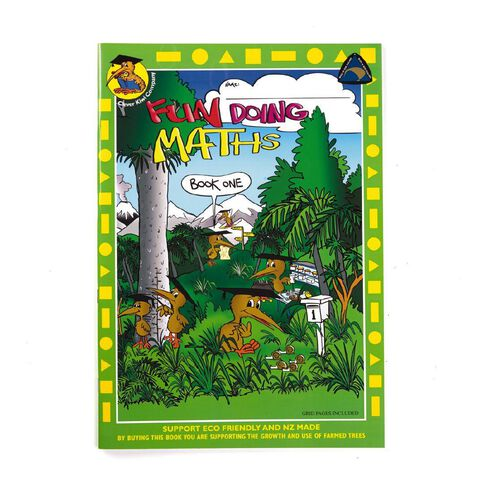 Clever Kiwi Fun Doing Maths Book 1 up to Year 4