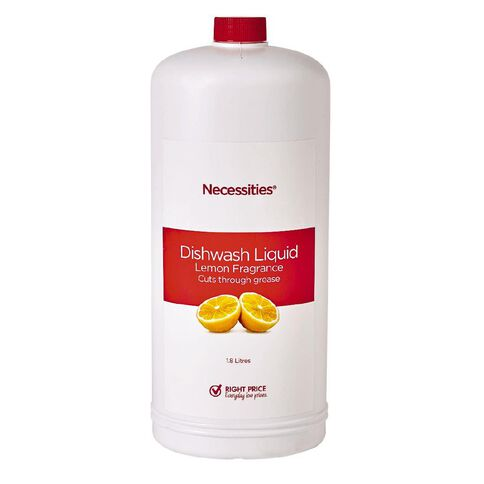 Necessities Brand Dishwash Liquid 1.8L
