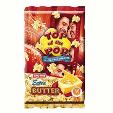 Top of the Pop Microwave Popcorn Extra Butter 100g