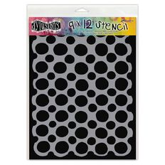 Ranger Dylusions Stencil Circles Large