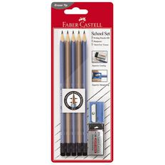 Faber-Castell Eleganz School Set Multi-Coloured