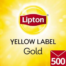 Lipton Yellow Label Enveloped Tea Bags Box 500