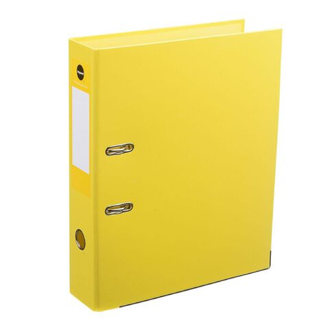 WS Foolscap Lever-Arch Yellow