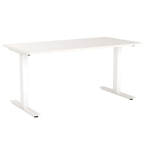 Agile 1800 Desk White/White
