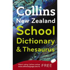 Collins Nz School Dictionary & Thesaurus