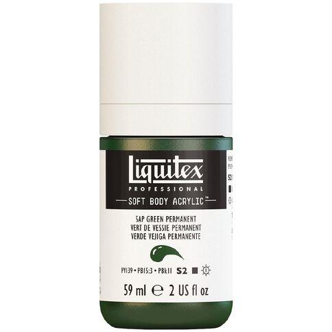 Liquitex Soft Body Acrylic 59ml Sap Green S2