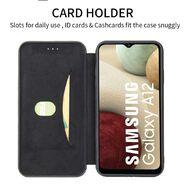 INTOUCH Samsung A12 Milano Wallet Case Black