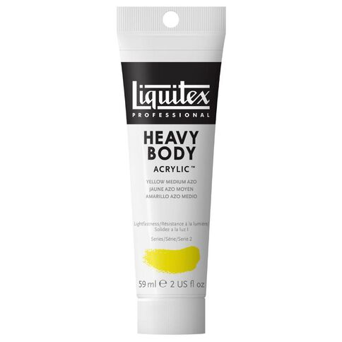 Liquitex Hb Acrylic 59ml Medium Azo Yellow