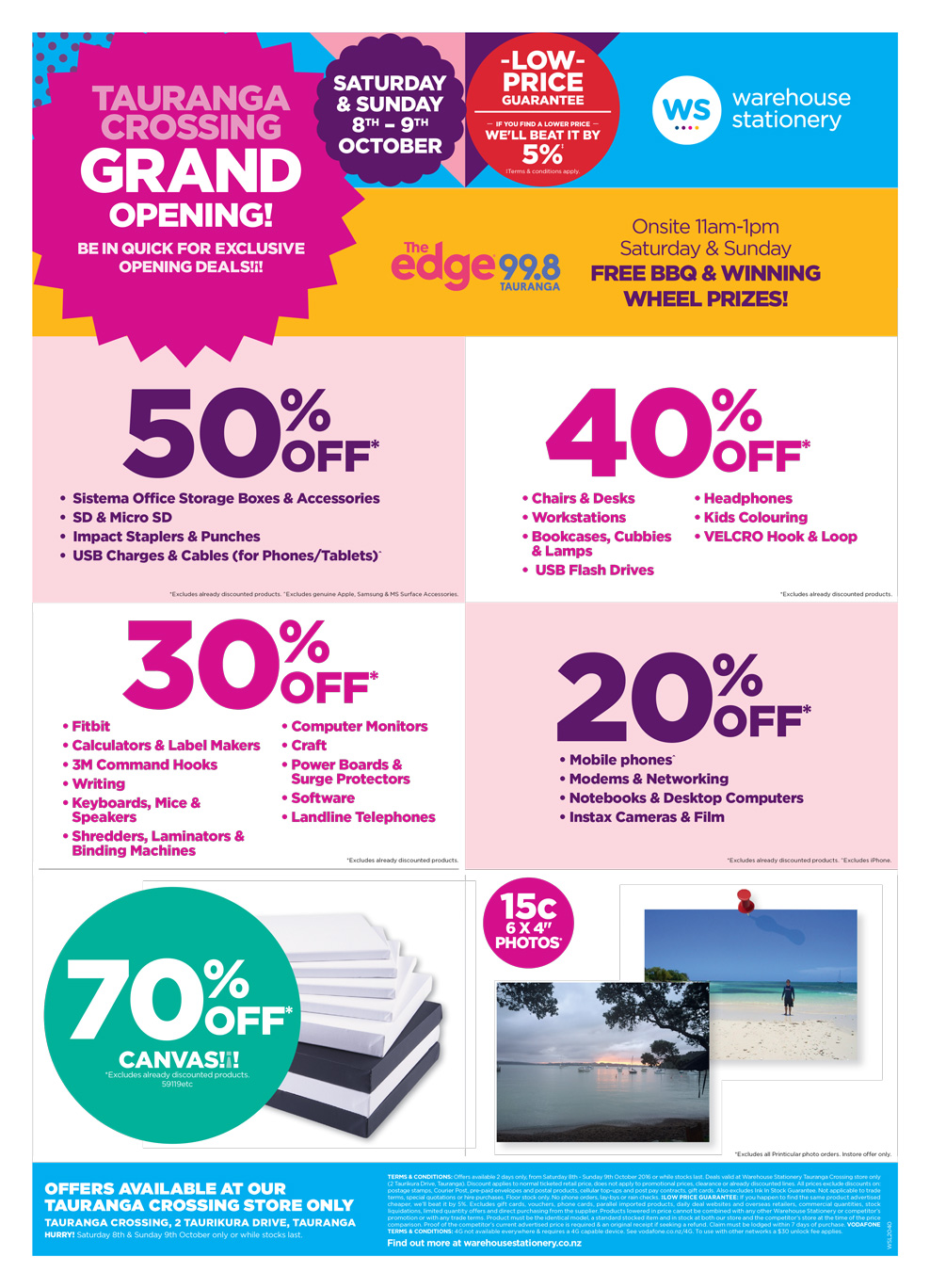 Tauranga Crossing Grand Opening exclusive offers Mailer - Page 2